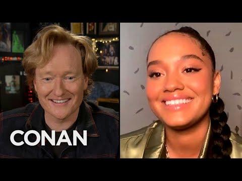#CONAN: Kiersey Clemons Full Interview - CONAN on TBS
