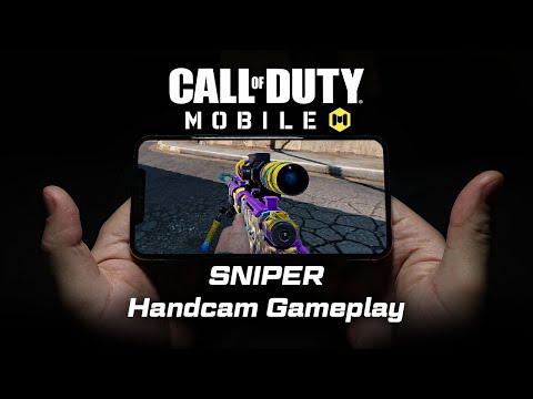Call Of Duty Mobile Sniper Handcam + Settings!