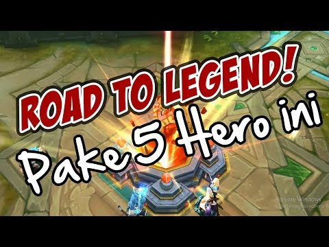 5 HERO ANDALAN PUSH RANKED Hingga Ke LEGEND - Mobile Legends Indonesia