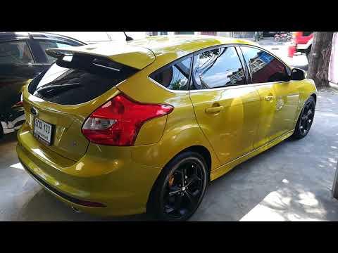 [ รถขายไปเเล้ว ] ฟอร์ดโฟกัสมาใหม่!! 5ประตู สีเหลืองสปอร์ตๆ ตัวท๊อป l Ford Focus 2.0S+LPG TOP2014