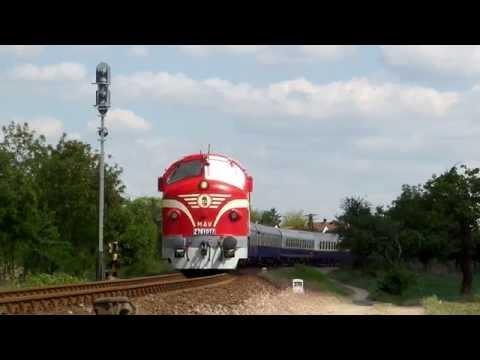 Balkan Odyssey - Golden Eagle Danube Express érkezése Ócsára