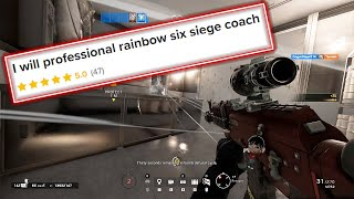 Download I hired a TOP 50 Rainbow Six Siege player as a Coach on Fiverr and here's what happened Mp3 and Videos