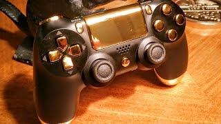PS4 controller shell and button replacement