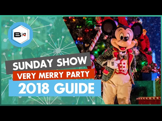 Guide to the 2018 Mickey's Very Merry Christmas Party, Magic Kingdom