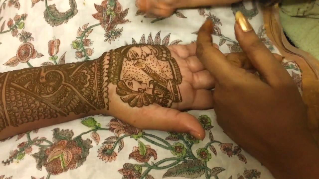 Mehndi design 2017 for bride - Full Hand Bridal Mehendi Design 2017 Dulha Dulhan Mehendi Dulha Keeping Kumkum Worldofhenna