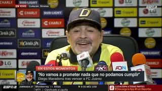 Maradona volvió a hablar de su salida de la selección