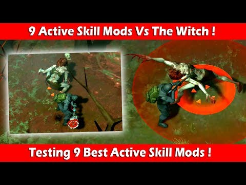 Testing 9 Best Active Skill Mods On The Witch! Last Day On Earth Survival