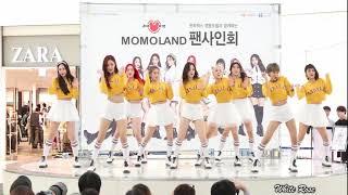 HOT K-POP ll 180121 모모랜드(MOMOLAND) - 뿜뿜 (BBOOM BBOOM) [타임스퀘어 팬사인회]