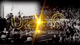 U2 Vancouver 15-05-2015 First 10 songs