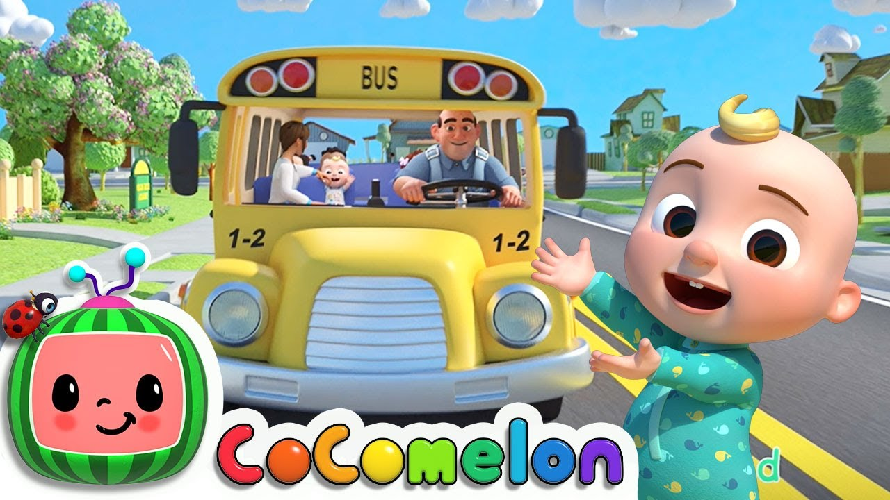 Download Wheels on the Bus (School Edition) + More Classic Kids Songs - @Cocomelon - Nursery Rhymes