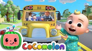 Wheels on the Bus (School Edition) + More Classic Nursery Rhymes & Kids Songs - CoComelon
