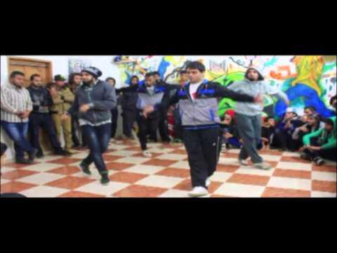 The first Break Dance Competition in Gaza strip(CB Crew center 2014).