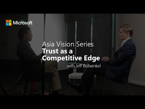 Asia Vision Series: Trust as a Competitive Edge