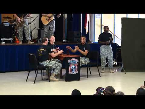 I'm Gonna Miss you (Cups) as performed by the 82nd ABN Division Band