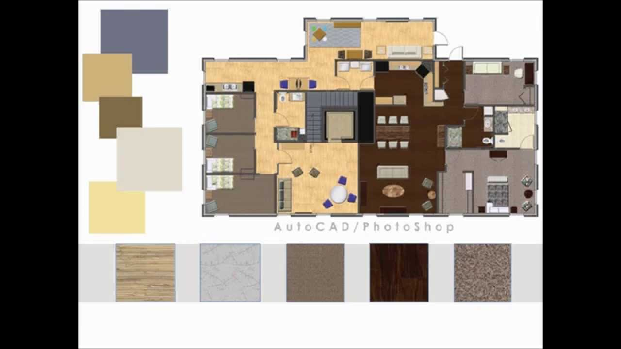 Student interior design portfolio youtube for Interior design portfolio layout ideas
