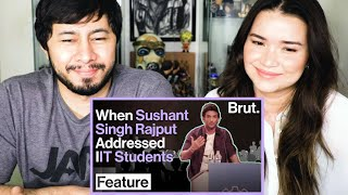 THE UNDERSTATED WISDOM OF SUSHANT SINGH RAJPUT | Brut India | Reaction