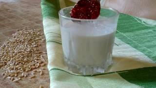 Постный/ веганский Овсяный йогурт