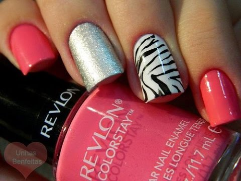 Uñas Decoradas Con Esmalte Sencillas Y Bonitas Youtube