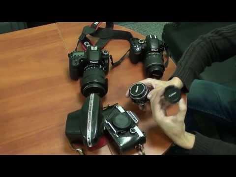 """Адаптер (переходное кольцо) Nikon  - Canon с чипом (""""Одуванчиком)""""."""