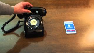Newest Mobile Phone ? ( Reuse rotary telephone to mobile )