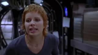 Человек Невидимка 2000 г (Себастьян разгуливает на свободе и убивает собаку)