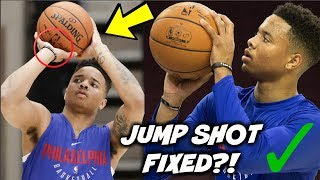 MARKELLE FULTZ HAS A NEW FREE THROW SHOT?! - (The Reason WHY Markelle Fultz RUINED HIS FREE THROWS)
