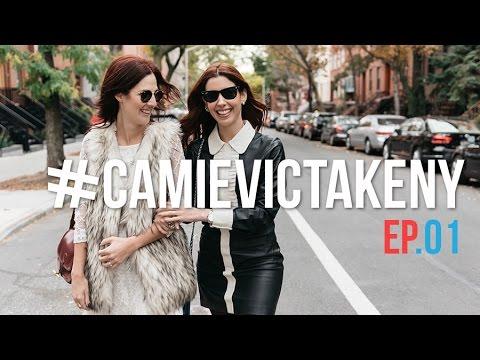 #CamieVicTakeNY - EP.01: Gisele Bundchen, comprinhas de Halloween e beleza, brechó e mais!