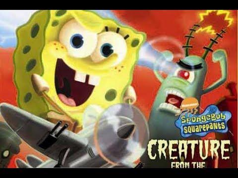SpongeBob SquarePants Creature from the Krusty Krab All Cutscenes Cinematic (Game Movie)