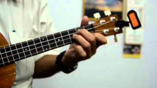 MALAYSIA BERJAYA - ukulele in Eb