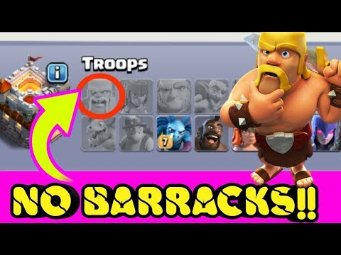 THIS PLAYER HAS NO ELIXIR BARRACKS IN Clash of Clans - NOT POSSIBLE!! (Bengali)