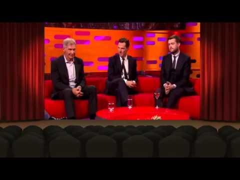 The Graham Norton Show 14x01 Harrison Ford, Benedict Cumberbatch, Jack Whitehall and James