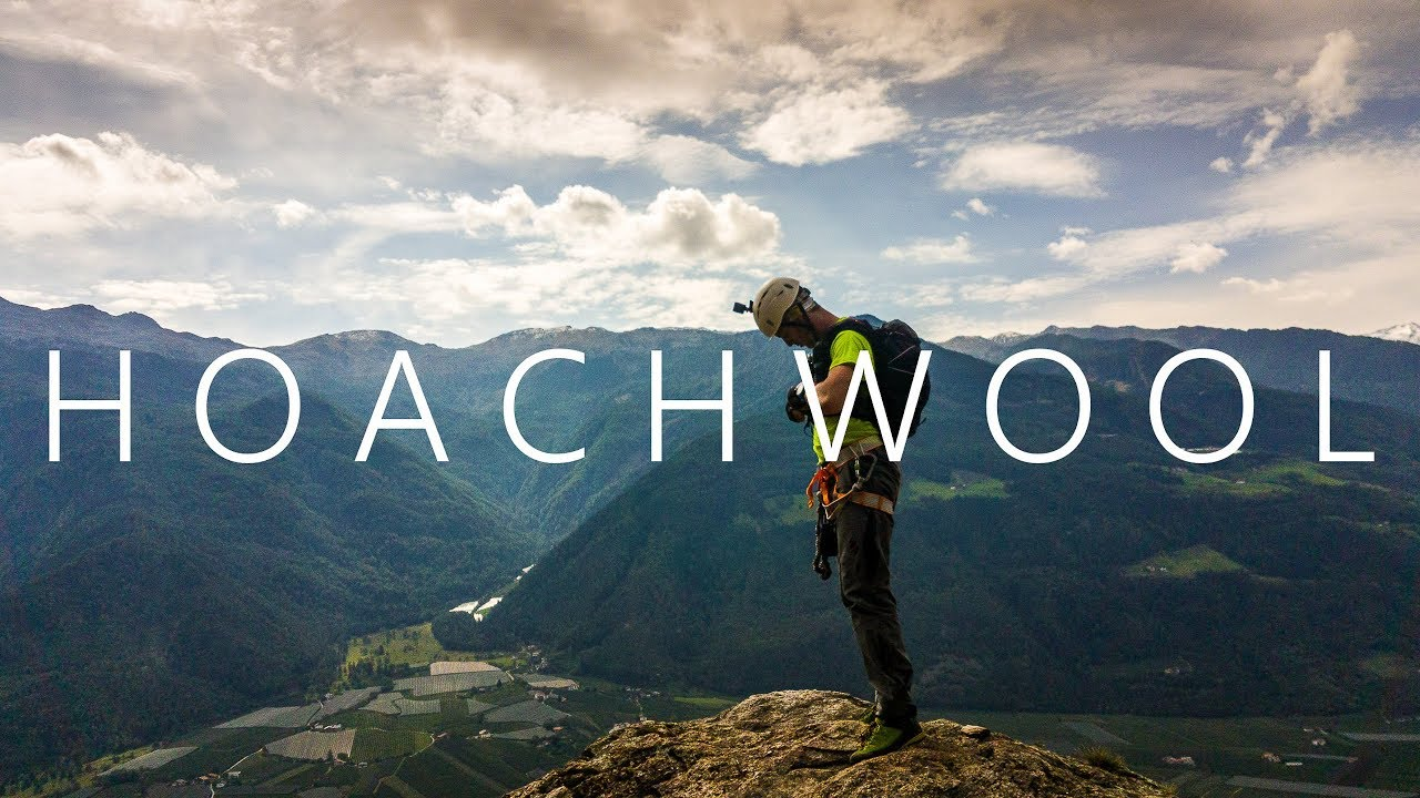 Klettersteig Hoachwool : Hoachwool klettersteig vinschgau youtube