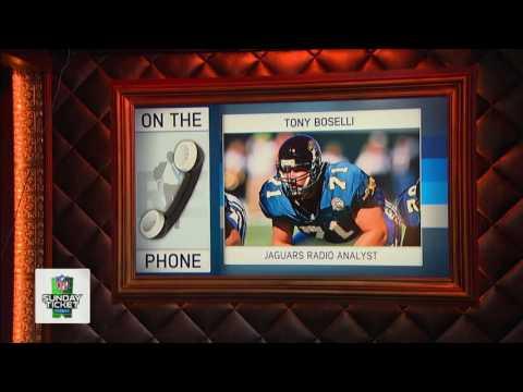 Current Radio Analyst Tony Boselli Talks Jacksonville Jaguars Football - 7/29/16