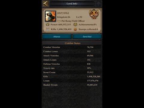 Clash Of Kings - Kvk Rank 1 Vs Kd36 | Overpowered Kingdom