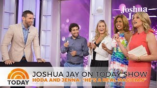 Joshua Jay talks about his NEW experiential magic show on TODAY!