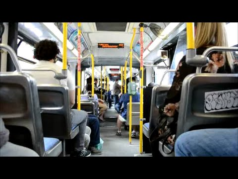 OTTAWA OC TRANSPO NEW FLYER ARTIC BUS RIDE # 6364