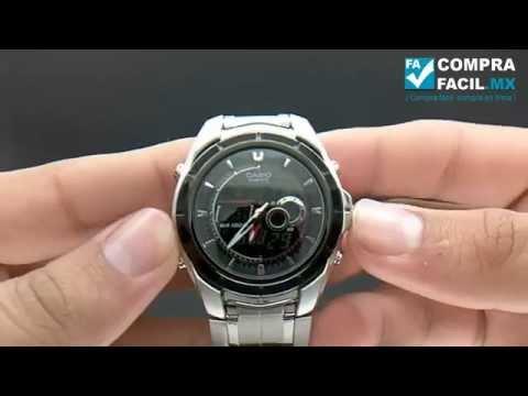 635d5c8fbd1d Reloj Casio Edifice EFA 119 ML - CompraFacil.mx - YouTube