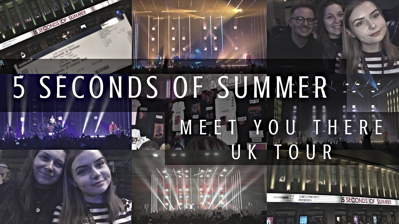 5 Seconds Of Summer Meet You There Uk Tour Eventim Apollo London 30th October 2018