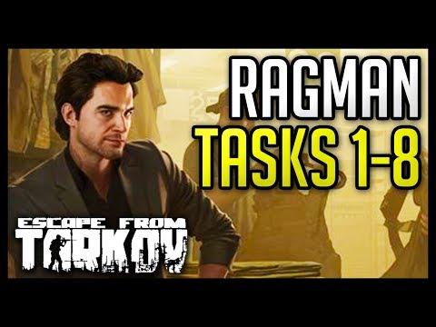 Ragman Tasks (1-8) Guide - Escape from Tarkov