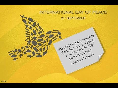 Students Debate World Peace - International Day of Peace 2016
