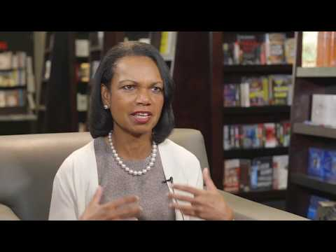 Condoleezza Rice talks religion, confederate monuments, and energy policy