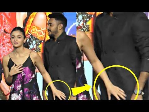 Alia Bhatt Oops Moment At Badrinath Ki Dulhania Promotional Event!