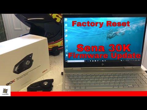 Sena 30K Firmware Update
