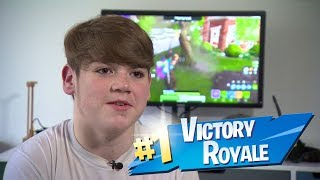 Secret Mongraal et Secret Osmo - France Team Secret Fortnite rang #1 Meilleur joueur de 14 ans Meilleur bâtiment