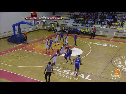 Unitel Basket - Sport Libolo e Benfica x Petro de Luanda - Jogo 3 Meias Finais