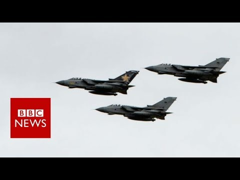 Queasy journalist takes last Tornado flight - BBC News