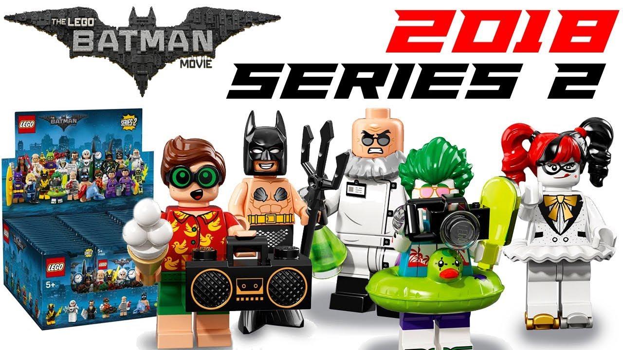Lego Batman Movie 2018 Series 2 Collectible Minifigures