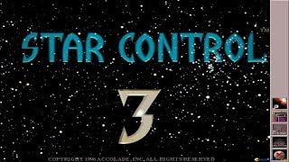 Star Control 3 gameplay (PC Game, 1996)