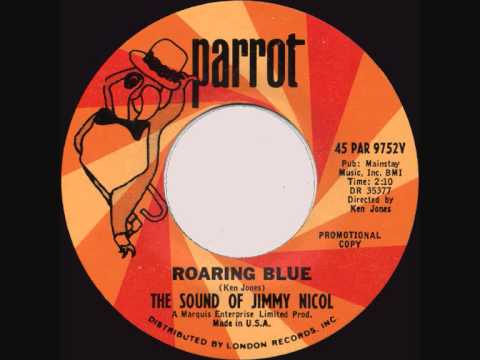 The Sound of Jimmy Nicol - Roaring Blue