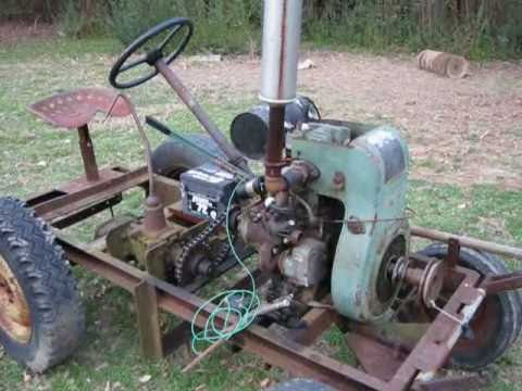 Home Built Tractor Youtube